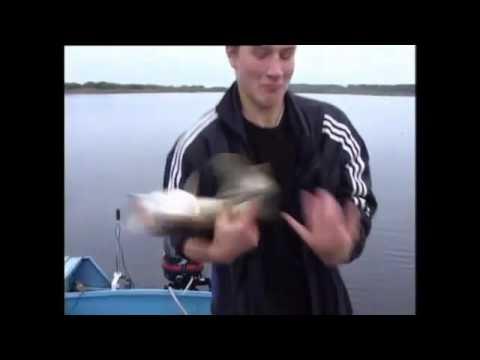 видео ловля щуки на кораблик видео