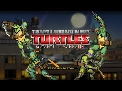 #6 Часть (TMNT Mutants In Manhattan)(Все Боссы)