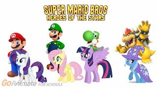 the 4 ponies would like to join the super mario bros heroes of the stars on youtube