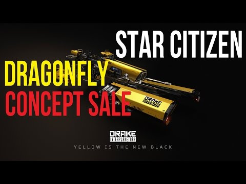 Star Citizen | Drake Dragonfly | Ship Buyer's Guide & Concept Sale