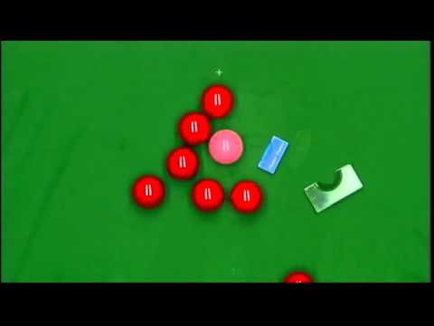 Michaela Has Trouble Trying To Position The Pink (world Championship 2012 Final Snooker - 7.5.12) video