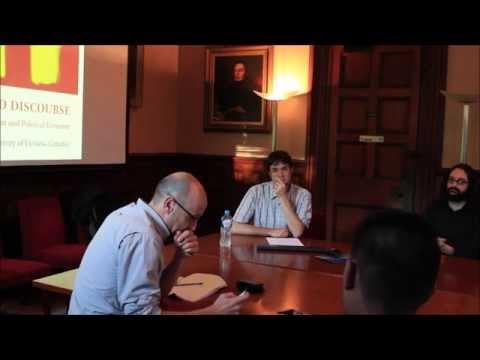 Simon Springer - Department of Political Economy Seminar Series 2016, University of Sydney