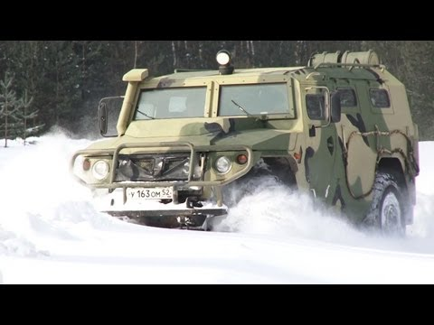 Blindado ruso Tigr-M: todoterreno militar a prueba de explosiones