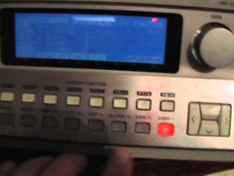 installation d'un lecteur de carte compact flash Microtech PCD-47B SCSI