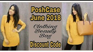 PoshCase June 2018   The Sassy Edition   Discount Code   Unboxing & Review  