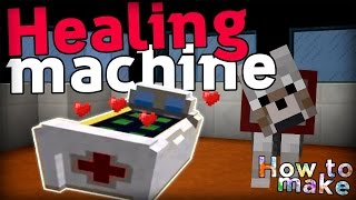 Minecraft: How to make a Pokémon HEALING MACHINE!