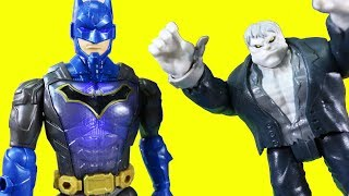 Imaginext Batman Superheroes Send Battle Power Batman Robot To Rescue Aquaman ! Superhero Toys
