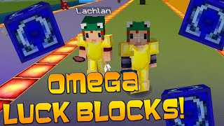 "LUCKY BLOCK (OMEGA LUCKY BLOCK) RACE! ""HEROBRINE ATTACKS"" w/Kenny & Friends!"