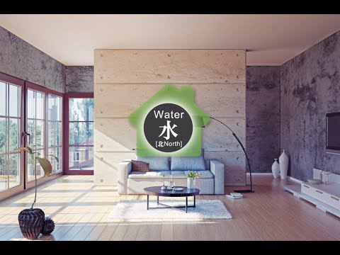 ★ 50 Mins ★ Water Element - Chinese Feng Shui Music / 北方水樂招財納福 – 五行風水運勢音樂