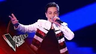 Erik Performs 'Saturday Night' | Blind Auditions | The Voice Kids UK 2019