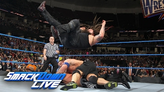 John Cena vs Bray Wyatt vs AJ Styles WWE Title Triple Threat Match SmackDown LIVE Feb 14 2017
