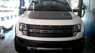2012 FORD F150 RAPTOR SVT 6.2L 4WD- Installed Metal Mulisha Gibson Exhaust At So Cal Muffler