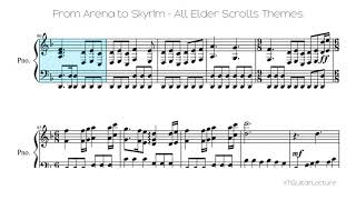 From Arena To Skyrim All Elder Scrolls Themes