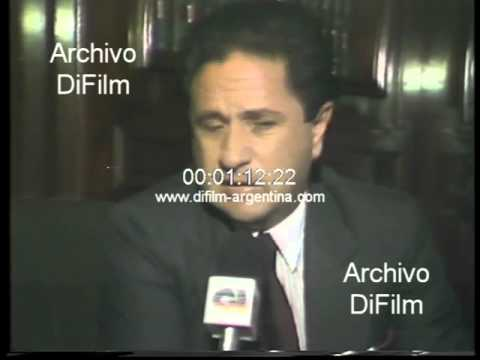 DiFilm - Eduardo Duhalde sobre falsificaciones bonos provinciales 1989