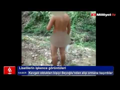 Liselilerin ikence grntleri (iki renciyi ormana karp zorla soydular)