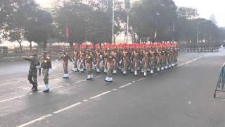 Republic Day Prade at Red Road Kolkata 2016