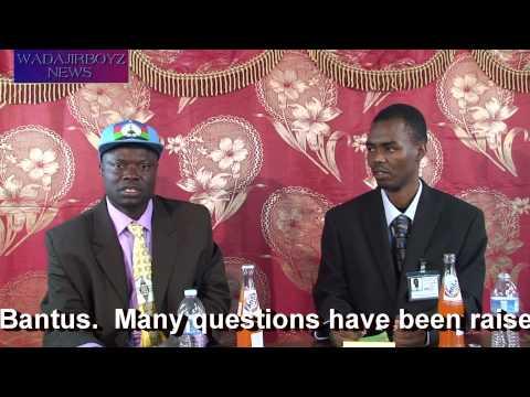 WadajirBoyz News . WadajirBoyz Had  interview With Somali Bantu Leader Mohamed Shambara