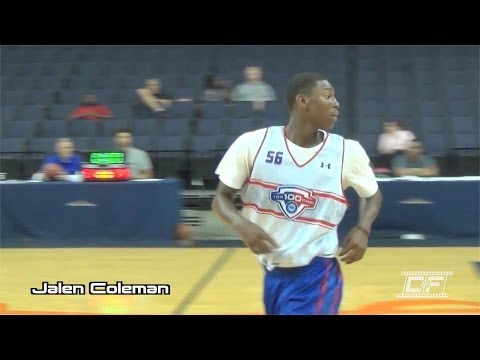 Jalen Coleman Mixtape @ NBA Top 100 Camp