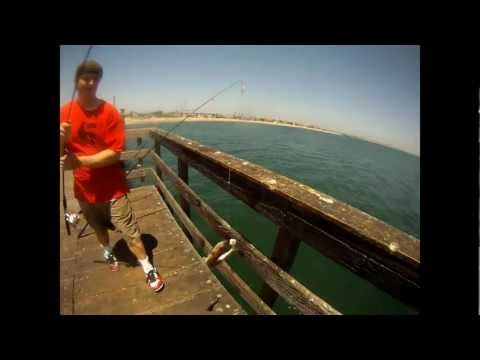 Reelninfish Episode #17: FISHING ON THE SEAL BEACH PIER, CALIFORNIA