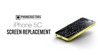 How to: iPhone 5C LCD/Digitizer Screen Replacement Full Assembly (Easy Version)