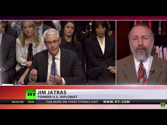 'Reasonable answers to unreasonable questions' – ex-US diplomat on 'Russian meddling' hearings