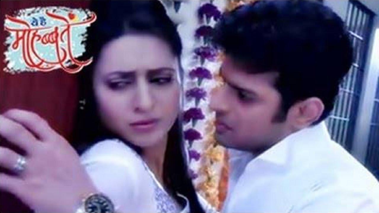 Romance between ishita and raman yeh hai mohabbatein youtube