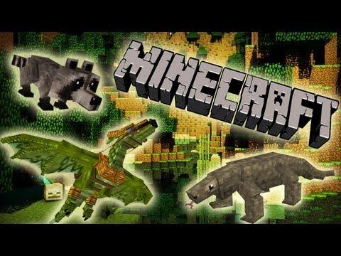MineCraft Deer, Ants, Raccoons, Dragons! Part 1