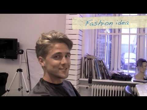 60's mens haircut undercut Kevin Murphy Gritty Business  Bleaching hair spot Slikhaar TV