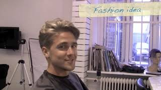 60's mens haircut undercut - Kevin Murphy Gritty Business  - Bleaching hair spot - Slikhaar TV