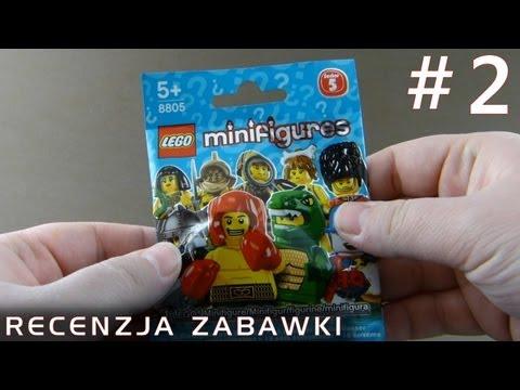 Tajemniczy Ludzik Lego z Saszetki #2 - polska recenzja zabawki - Lego Minifigures Series 5