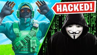 I got hacked LIVE while playing fortnite..