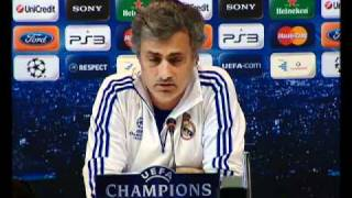 UCL Clasico  Real Madrid vs Barcelona  Mourinho and Guardiola press conference