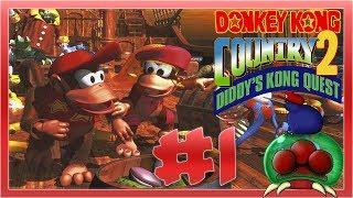 Una nueva aventura para failear | Donkey Kong Country 2 #1 | Directo
