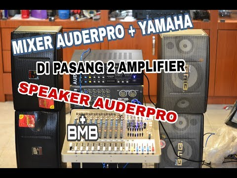 CARA PEMASANGAN 1 MIXER + 2 AMPLIFIER thumbnail