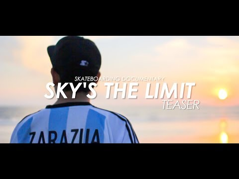 Sky's the limit - Teaser Aug 26/2017 スケートボード ドキュメンタリー 予告編