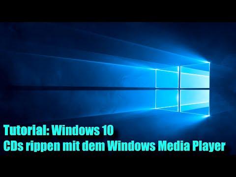 Windows 10 CDs rippen mit dem Windows Media Player (Tutorial)