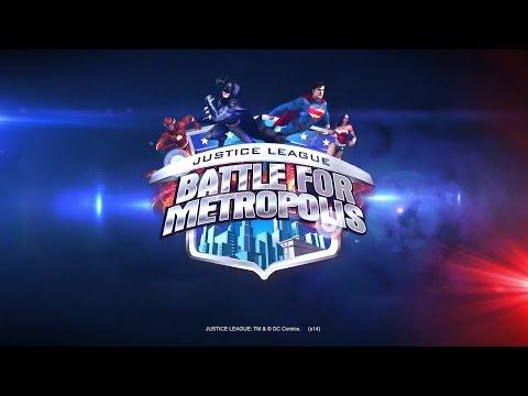 Justice League: Battle for Metropolis Official Trailer