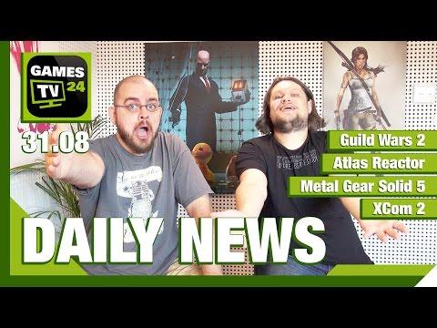 Guild Wars 2, Metal Gear Solid 5, Atlas Reactor   Games TV 24 Daily - 31.08.2015
