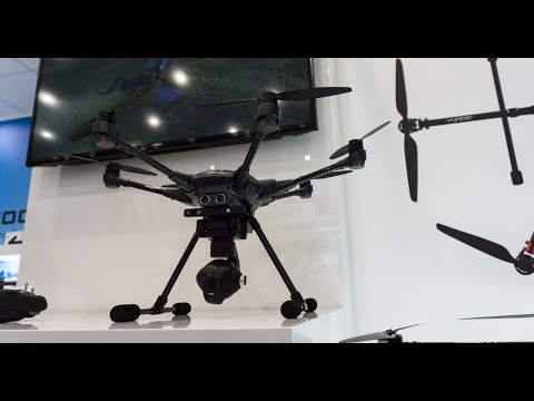 Yuneec Typhoon H Review & News at ToyFair 2016 in Nuremberg