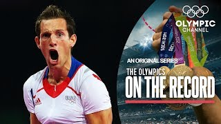 How Renaud Lavillenie Broke the Pole Vault Olympic Record | Olympics on the Record