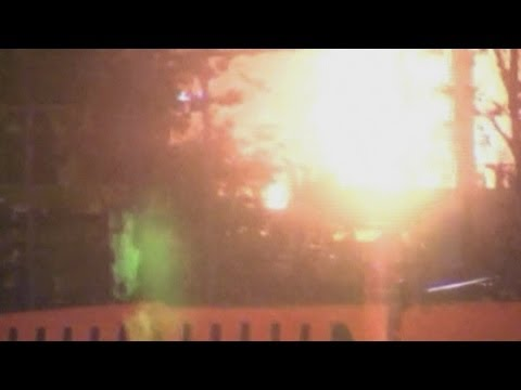 Huge explosion: Two natural gas barges explode in Alabama