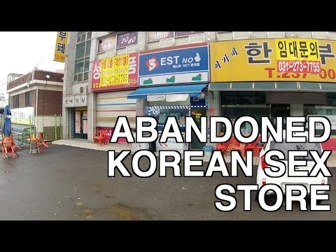 Abandoned Korean Sex Store