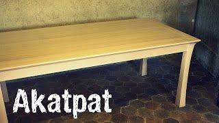 Play comment construire une table de chevet rustique - Construire une table de chevet ...