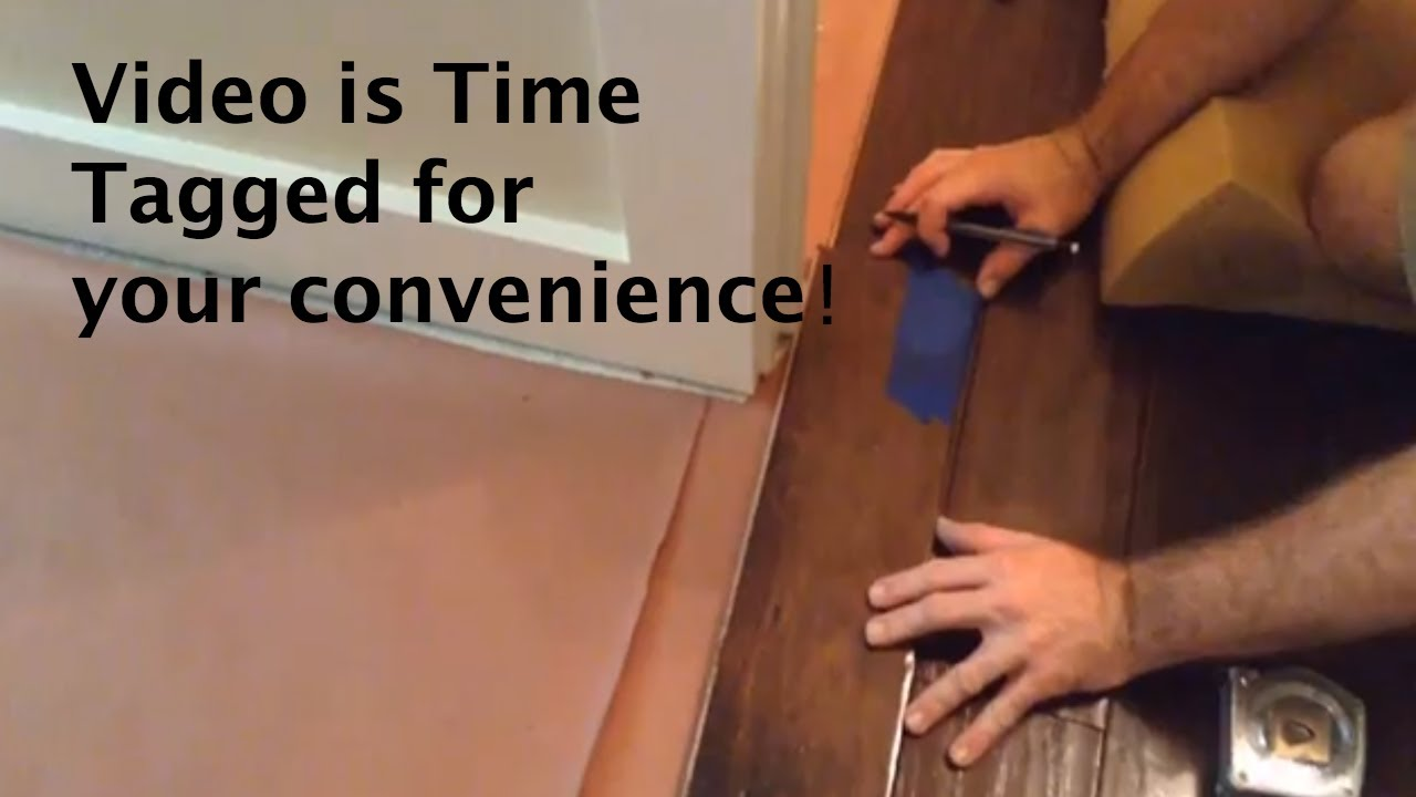 How To Install Wood Flooring Doorways Room Transitions