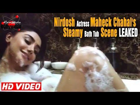 Nirdosh Actress Maheck Chahal's Steamy Bath Tub Scene LEAKED thumbnail