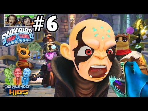 Lets Play Skylanders Trap Team: Chapter 6 - Rainfish Riviera w/ Brawlrus, Maskermind, B&C (Face Cam)