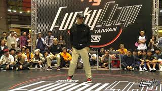 20171021 FUNKY STEP VOL.6 popping Judge Solo(Mo'Higher) Jaygee、Hoan