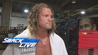 Dolph Ziggler is at a loss of words: SmackDown LIVE Fallout, Sept. 20, 2016
