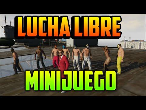 GTA V Online | ¡LUCHA LIBRE EN GTA V! - WWE | Minijuego | SrHuevon
