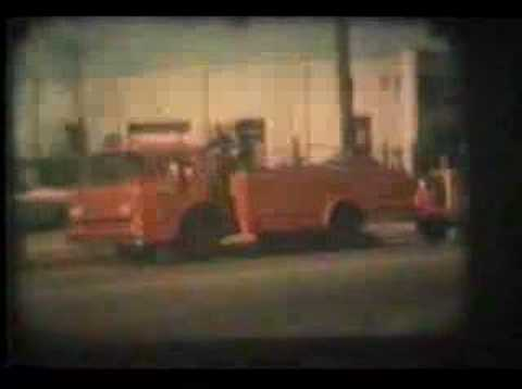 Memphis Fire Department late 50s 8mm film Video